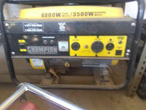 Champion generator for Sale in Glendale, AZ