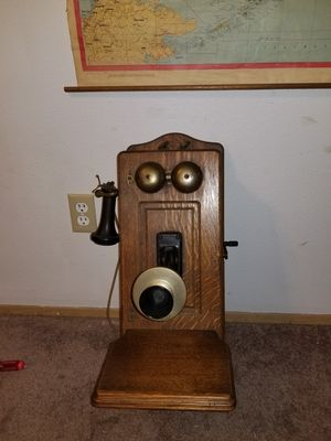 Vintage Western Electric WallPhone 317A Very Early Model for Sale in Bonney Lake, WA