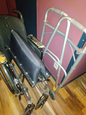 Used walker and wheelchair for Sale in Rustburg, VA