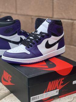 """Jordan 1 """"Court Purple 2.0"""" (Size 11.5) for Sale in Las Vegas,  NV"""