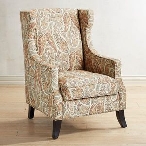 Alec Sunset Paisley Wing Chair for Sale in San Diego, CA