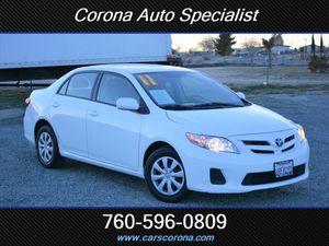 2011 Toyota Corolla for Sale in Victorville, CA