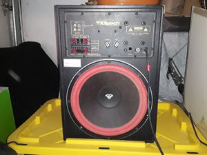Klipsch powered subwoofer for Sale in Hayward, CA