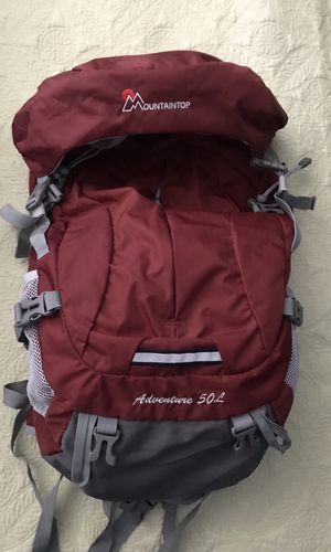 Mountaintop Adventure Hiking Backpack (50L) for Sale in Ontario, CA