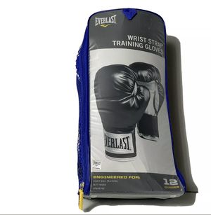 Everlast Wrist Strap Boxing Gloves 12 oz for Sale in Anaheim, CA
