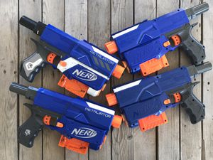 Nerf Retaliator lot 4x for Sale in Santa Maria, CA