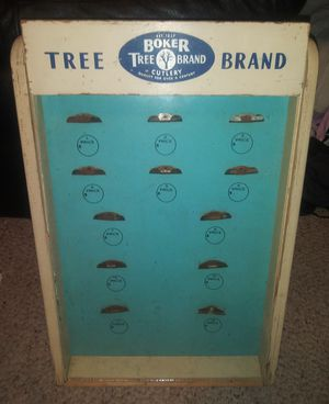 Boker Tree Brand Vintage Countertop Display for Sale in Pulaski, TN