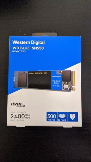 Western Digital SN550 for Sale in West Springfield, VA