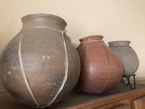 3 ceramic pots for Sale in Chandler, AZ