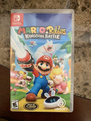 Nintendo Switch Mario and Rabbids Kingdom Battle for Sale in Boca Raton, FL