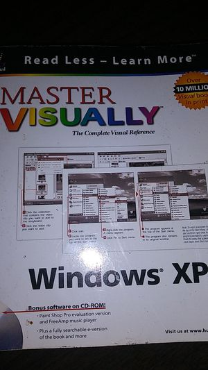 Master visually the complete visual reference Windows XP for Sale in Seminole, FL