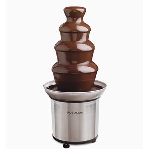Nostalgia Stainless Steel Chocolate Fondue Fountain for Sale in Elgin, IL