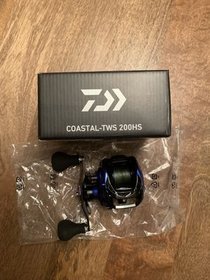 Fishing reel Diawa coastal 200 brand new ! for Sale in Tampa, FL