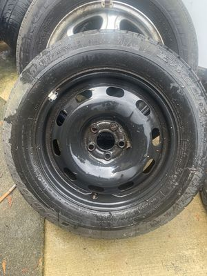 Audi VW golf Jetta spare wheel 5 lug for Sale in Auburn, WA
