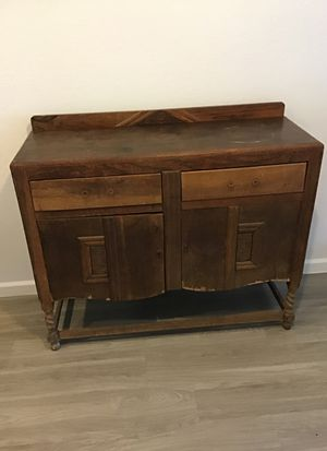 Old hand carved dresser for Sale in Fort Myers, FL