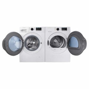 """Samsung 2.2 CuFt 24"""" Front Load Washer with Super Speed and 4.0 24"""" CuFt ELECTRIC Dryer Samsung 24 in. 2.2 DOE cu. ft. High Efficiency Front Load Wash for Sale in Honolulu, HI"""