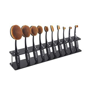 10pcs oval makeup brush set from LA Makeup for Sale in Los Angeles, CA