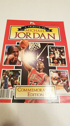 A tribute to Michael Jordan Chicago Bulls Commemorative Edition for Sale in Kissimmee, FL