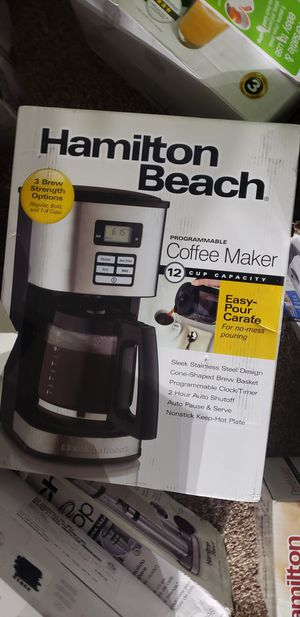 Hamilton beach coffee Maker for Sale in Reynoldsburg, OH
