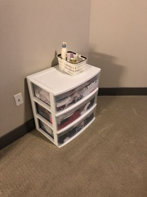 Sterilite plastic dresser drawer for Sale in Dallas, TX
