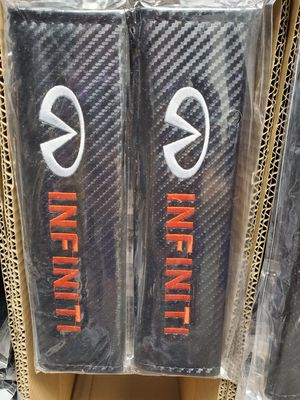 BRAND NEW INFINITI CARBON FIBER LEATHER SEATBELT SHOULDER PAD for Sale in City of Industry, CA