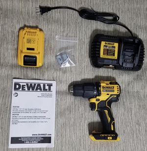 DEWALT 20-Volt MAX Compact Hammer Drill/Driver (W/ 3.0 Battery & Charger) for Sale in The Bronx, NY