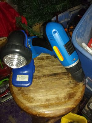 Drill and flashlight for Sale in Roanoke, VA