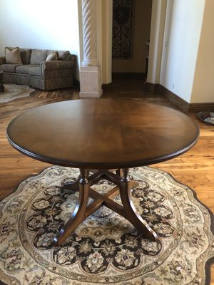 Estate Sale - round wood table for Sale in Chandler, AZ