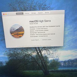 2018 Macbook Pro for Sale in Sacramento, CA