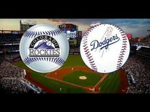 Dodgers Vs Colorado Rockies/Sunday Sept 22 1:10pm/ (1) Ticket Top Deck Section 3TD, Row J, Seat 1/Also Access To Stadium Club With Ticket/ Asking $20! for Sale in Los Angeles, CA