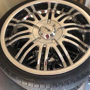 "20"" wheels 5lug universal for Sale in Sanger, CA"