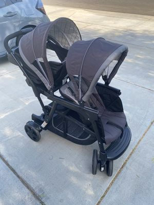 GRACO Ready2Grow Click Connect Double Stroller for Sale in Nuevo, CA