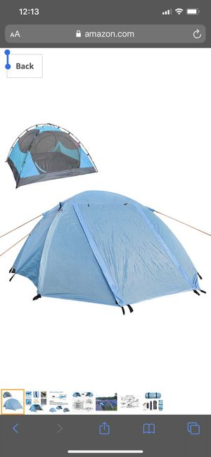 LETHMIK Portable Outdoor Backpacking Tent,2-3 Person Ultralight Waterproof Easy Set Up Family Tent with Carrying Bag for Sale in Kansas City, MO