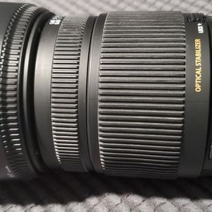 Sigma DC 18-250mm f/3.5-6.3 OS HSM DC Lens For Nikon for Sale in Bridgeport, CT