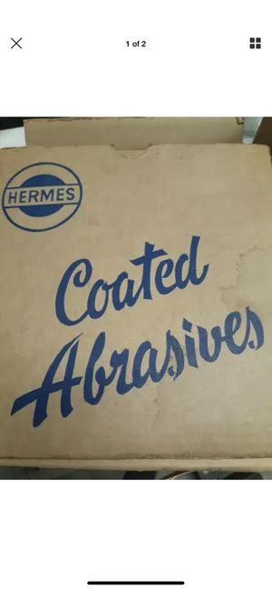 Hermes Coated Abrasives! Come in box!! for Sale in Hayward, CA
