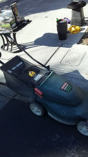 Craftsman electric lawn mower and mulching for Sale in Las Vegas, NV