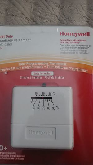 Honeywwell non programmable thermostat for Sale in San Diego, CA