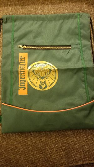 Jagermeister drawstring backpack for Sale in Houston, TX