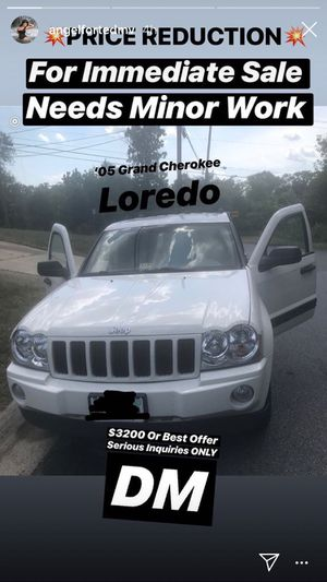 05 Jeep for sale runs and drives for Sale in Oxon Hill, MD