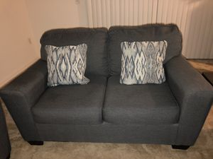 Ashley's Furniture Brand Couch, Loveseat, Coffee Table and side tables for Sale in Lakeland, FL