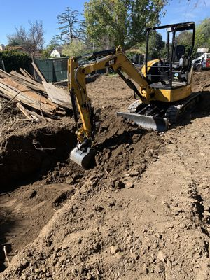Excavator and bobcat for Sale in Ontario, CA