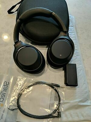Sony WH-1000XM3 Black Wireless Noise Canceling Headphones for Sale in The Bronx, NY