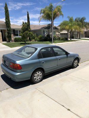 2000 Honda Civic DX for Sale in Romoland, CA