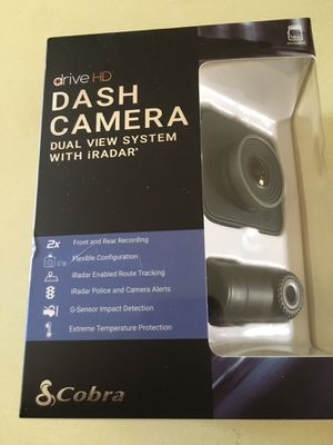 Dash camera with radar cobra for Sale in Perris, CA