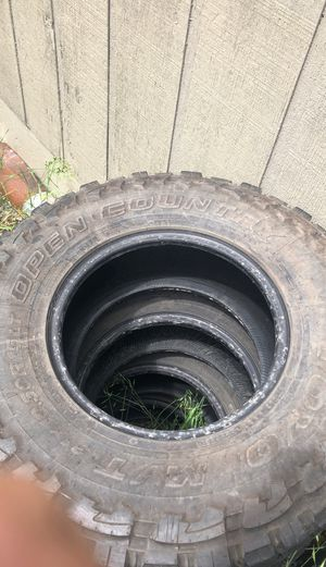 50% tread left on Toyo open country off road tires for Sale in Milwaukie, OR