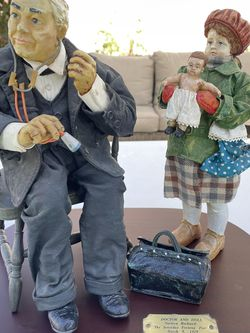 Norman Rockwell Clothique Exclusive-Doctor And Doll for Sale in Whittier,  CA
