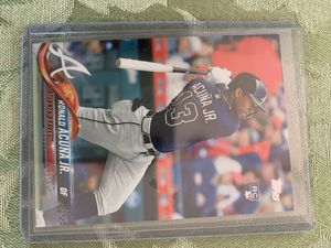 Ronald Acuna jr rookie card for Sale in Santa Ana, CA