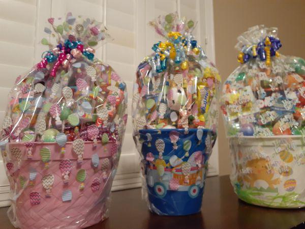 Variety Gift Baskets....Handmade - All Three