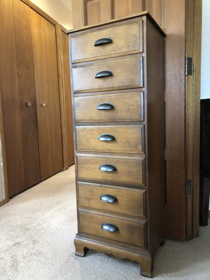 Handsome dresser solid wood for Sale in Colorado Springs, CO