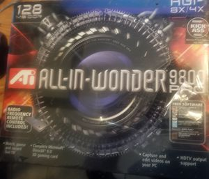 ATI All-In-Wonder Graphics PC TV Card for Sale in Lutz, FL